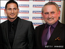 Frank Lampard and his father Frank Lampard Snr
