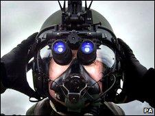 Royal Air force pilot at RAF Lossiemouth, Scotland