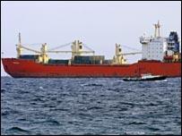 سفينة الاسلحة الايرانية