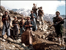 Mujahideen in the early 1980s