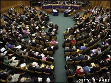 Church of England General Synod in Church House in London