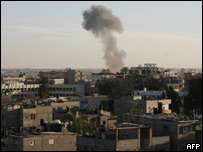После воздушного удара в Газе