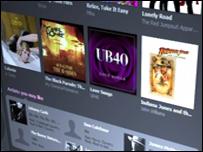 Online music retailer