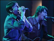 Brett Anderson and Bernard Butler as The Tears