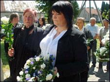 Jolanta's funeral