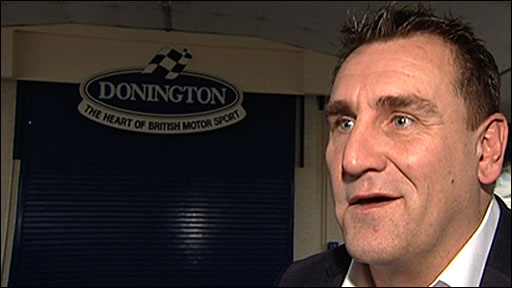 Donington circuit owner Simon Gillett