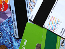 Cut-up credit cards
