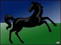 Lloyds TSB's black horse logo
