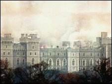 The 1992 fire at Windsor Castle