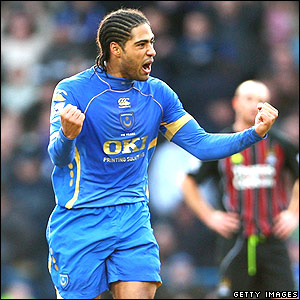Glen Johnson strikes for Portsmouth