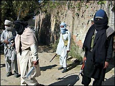 Militants in Swat - file photo