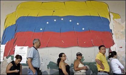 Electores venezolanos.