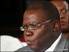 Zimbabwe's Finance Minister Tendai Biti, Harare, Zimbabwe, 13 February 2009