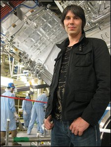 Brian Cox at NIF (BBC)