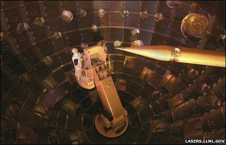 NIF facility (lasers.llnl.gov)