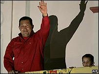 Hugo Ch�vez y su nieto