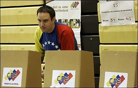Votante en Miami.