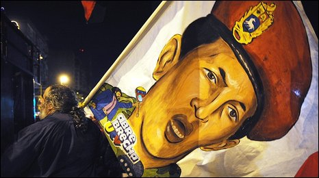 President Chavez supporter