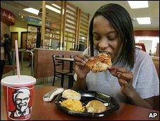 KFC customer