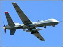 Avión espía no tripulado.