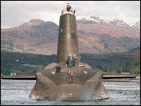Подводная лодка HMS Vanguard