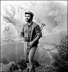 Undated image of Sergei Mahashev in Afghanistan (Image: Sergei Mahashev)
