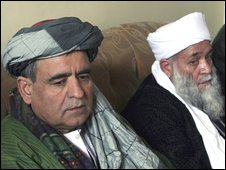 Ahmad Ghaws Zalmai (left) and Mushtaq Ahmad (11/01/09)