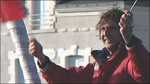 British sailor Brian Thompson