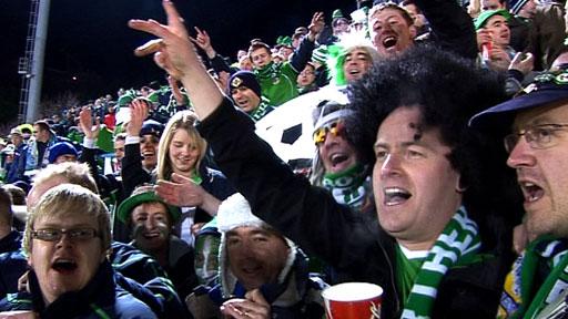 NI fans in San Marino
