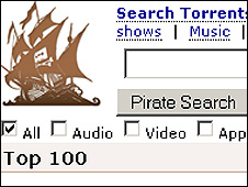 Pirate Bay site
