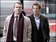 Bradley Walsh and Jamie Bamber