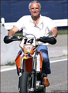 Red Bull boss Dietrich Mateschitz