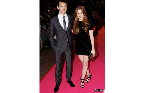 Hugh Dancy and Isla Fisher