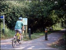 Cuckoo Trail (from Wealden District Council)