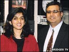 Aasiya Hassan and Muzzammil Hassan