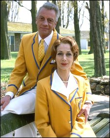 Barry Howard and Diane Holland in Hi-De-Hi!
