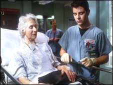 Diane Holland in Casualty