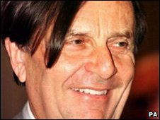 Barry Humphries, without the make-up