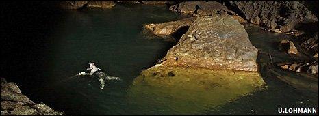 George McGavin swimming (Image: Ulla Lohmann)