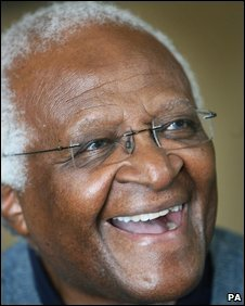 Tutu in Northern Ireland in 2007