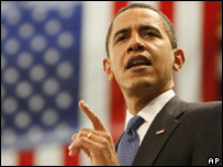 Barack Obama habla de economia.