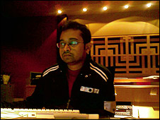 Sound engineer Ganesh G