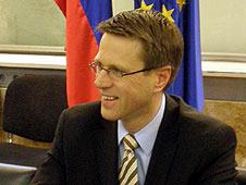 Slovenian FM Samuel Zbogar