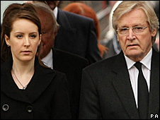 Bill Roache and daughter