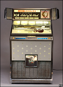 A jukebox