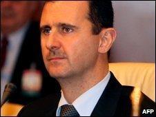 Syrian President Bashar al-Assad, file image