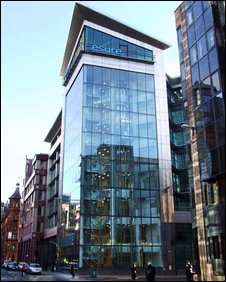 Esure building in Glasgow