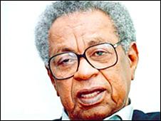 Sudanese novelist Tayeb Salih