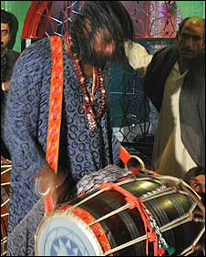 Sufi drummer