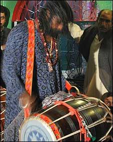Sufi drummer